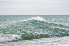 Fala na morza błękicie Obrazy Royalty Free