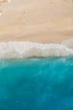 Fala na plaży Obrazy Stock
