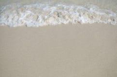 Fala na plaży Zdjęcia Royalty Free