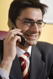 Fala no telefone Imagens de Stock