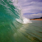fala plażowa Obraz Stock