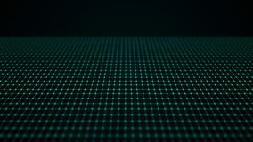 Fala przeplata? punkty i linie abstrakcyjny t?o Technologiczny styl Du?y Dane ?wiadczenia 3 d ilustracji