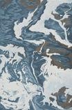 Fala przy morzem, morze piana ilustracja wektor