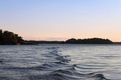 Fala przy morzem zdjęcia royalty free