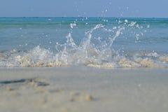 Fala przy plażą Obraz Stock