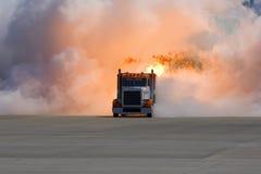fala uderzeniowej ciężarówka Zdjęcia Royalty Free
