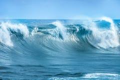 Fala w Atlantyckim oceanie obraz royalty free