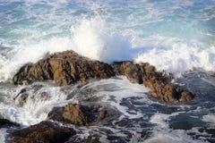 Fala w Pacyficznym oceanie Zdjęcia Stock