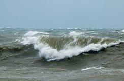 Fala w Szorstkim morzu Fotografia Stock