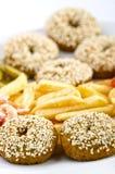 Falafel с французскими фраями Стоковые Изображения RF