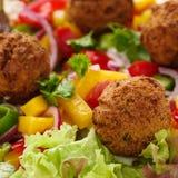Falafel с veggies стоковые фотографии rf