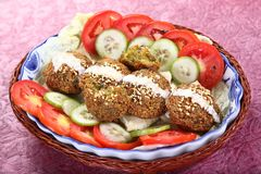 falafel imágenes de archivo libres de regalías