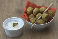Falafel Royalty Free Stock Photo