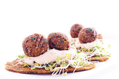 Falafel Appetizer Royalty Free Stock Images