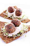 Falafel Appetizer Vertical Royalty Free Stock Photography