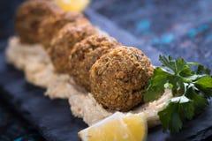 Falafel, boules frites de pois chiche Photo libre de droits