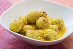 Falafel Curry Stock Photos