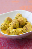 Falafel Curry Stock Images