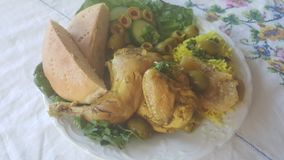 Falafel d'Octubos Photo libre de droits