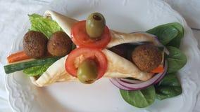 Falafel di Octubos fotografia stock