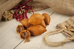 Falafel för kofte för turkRamadan Food icli (köttbulle) Fotografering för Bildbyråer