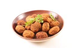 falafel fritado Fotografia de Stock