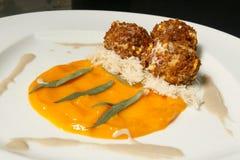 Falafel gastronomico fotografia stock libera da diritti