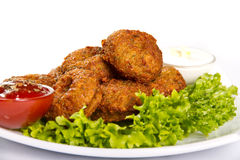 Falafel Stock Photo