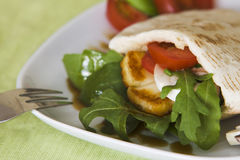 Falafel Pita Sandwich Stock Images