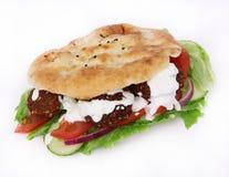 Falafel sandwich Stock Image