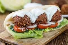 Falafel Sandwich Royalty Free Stock Image