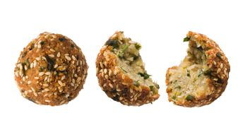 Falafel. Vegetarian food. Stock Images