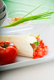 Falafel wrap Royalty Free Stock Images