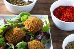 Falafels Stock Photos