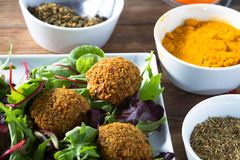 Falafels Royalty Free Stock Photos