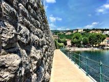 Falaise adriatique Image libre de droits
