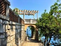 Falaise adriatique Images stock