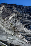 Falaise chez Yosemite Photos stock