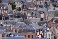 Falaise d'Amont Etretat City Normandy France Europe. Photo Picture of Falaise d'Amont Etretat City Normandy France Europe Royalty Free Stock Photos