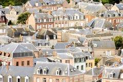 Falaise d'Amont Etretat City Normandy France Europe. Photo Picture of Falaise d'Amont Etretat City Normandy France Europe Royalty Free Stock Photo