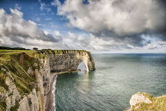 Falaise d'Aval Royalty Free Stock Photo