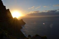 Falaise dans mamie Canaria image stock