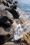 Falaise de mer Images libres de droits