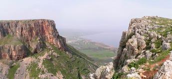 Falaise de montagne Photos libres de droits