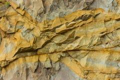 Falaise de montagne de roche Images stock