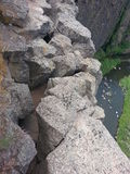 Falaise de roche Photos libres de droits