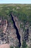 Falaises à Gros Morne Image stock