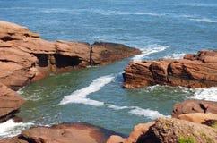 falaises Image libre de droits