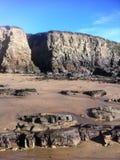 falaises Photo libre de droits