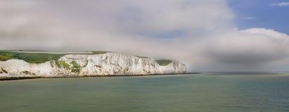Falaises blanches de Douvres Photographie stock libre de droits